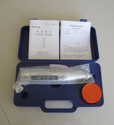 混凝土回弹仪指针滑块采用外置式簧圈结构,既便于摩擦力调整,又能保证